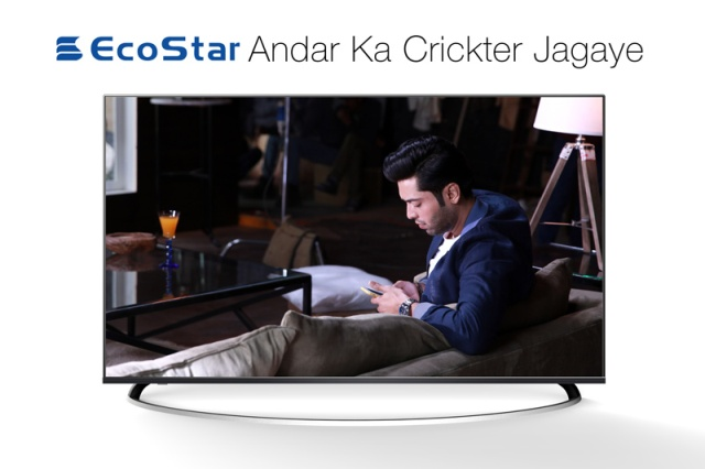 Fahad Mustafa became part of EcoStar's Campaign for PSL cricket tournament