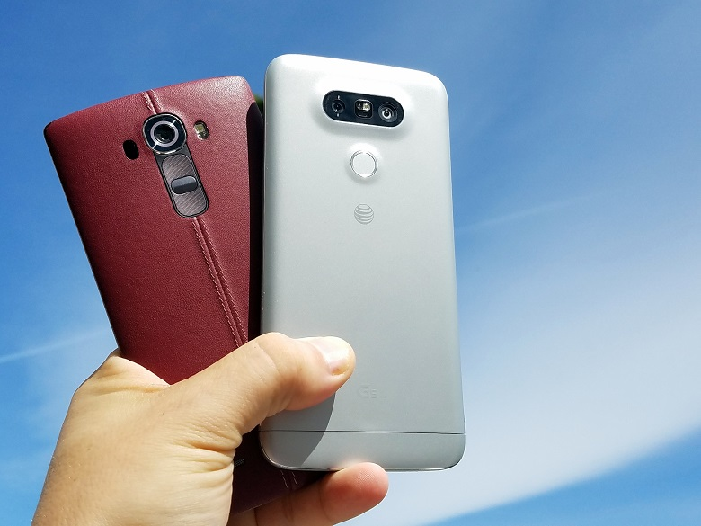 LG G4 and G5 are not good mobiles of LG Lovers