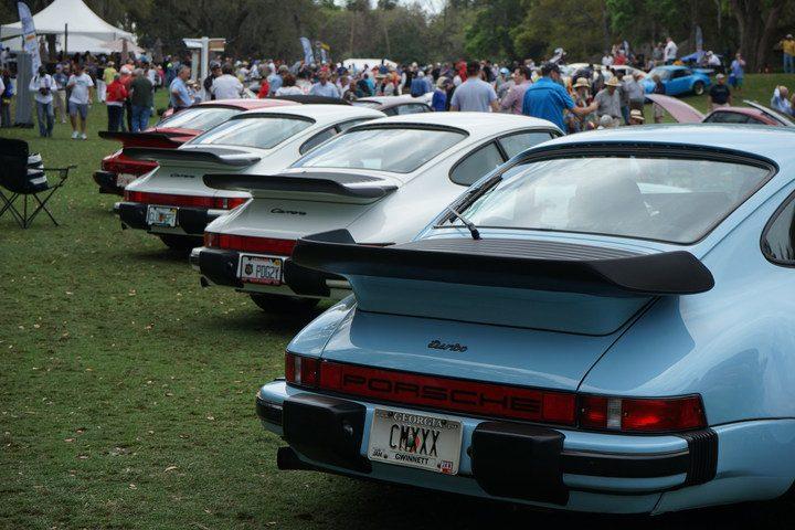First ever Werks Reunion Amelia Island Porsche show an unqualified success