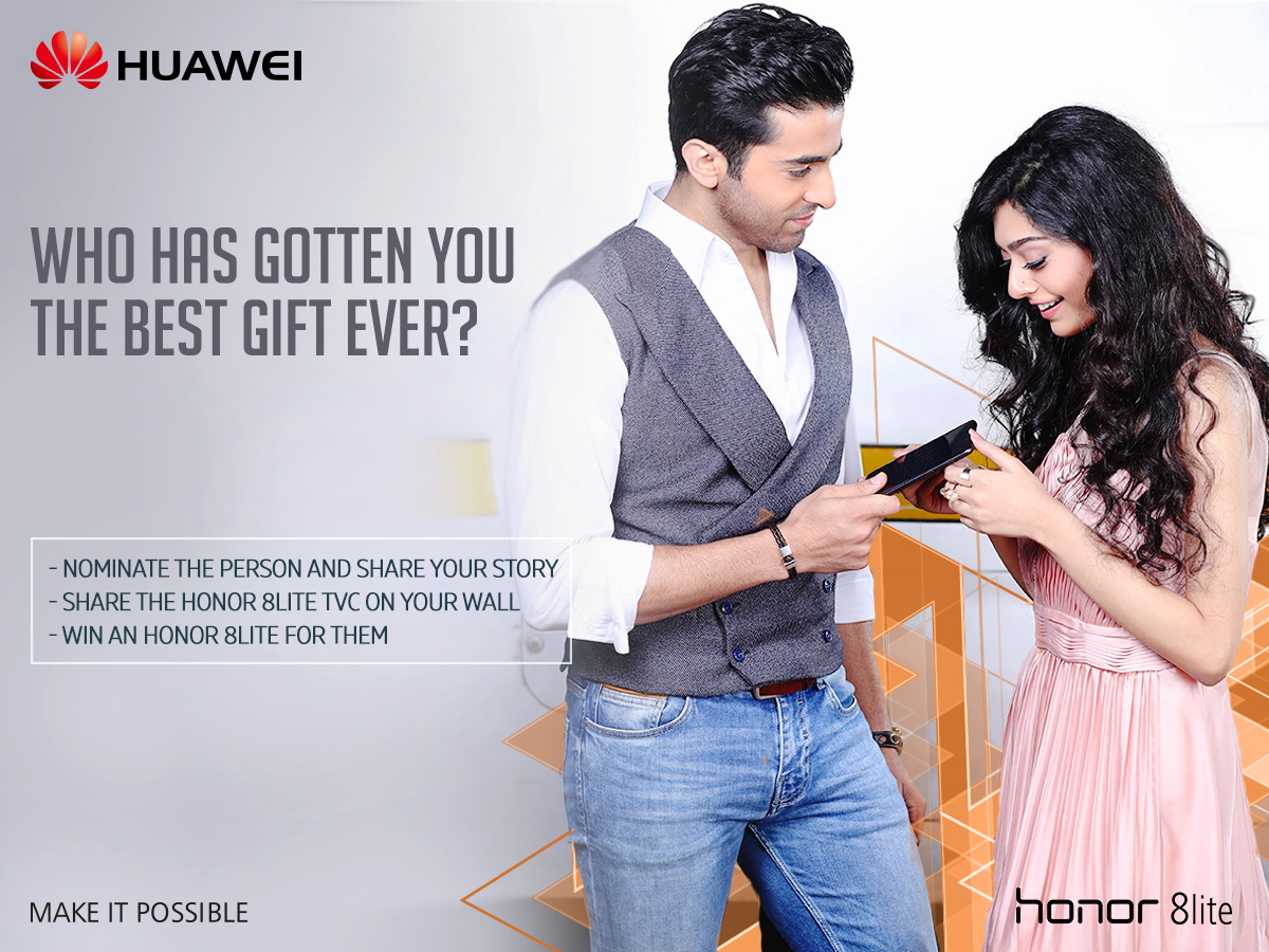 Huawei Honor 8Lite – Gifting your loved ones!