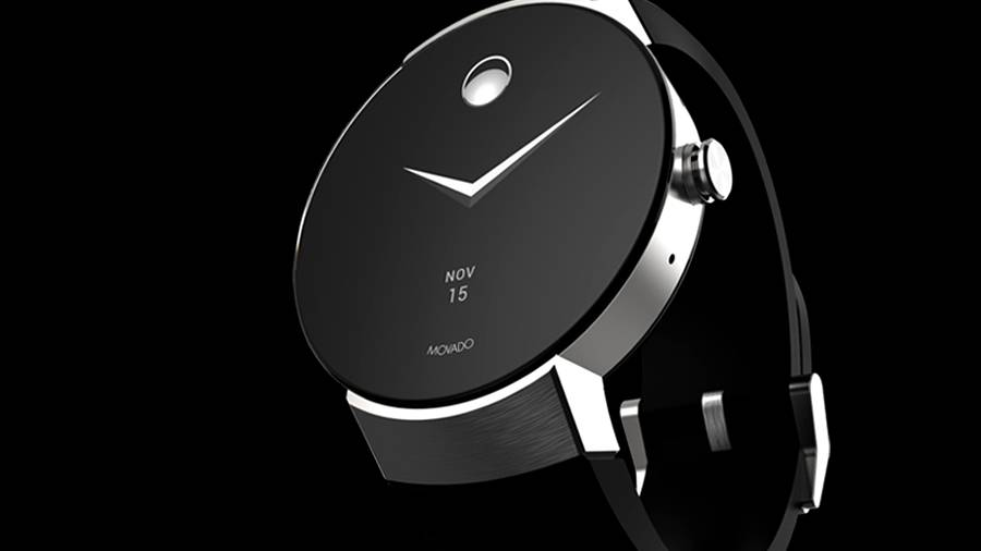 Movado Connect is a smooth Google android Wear 2.0 watch with an edge-to-edge display