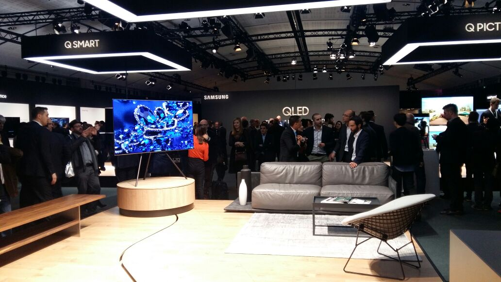 QLED launch Image