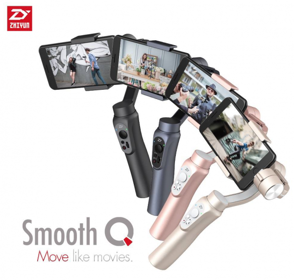 ZHIYUN Smooth-Q – Featured by Ground Breaking Technology