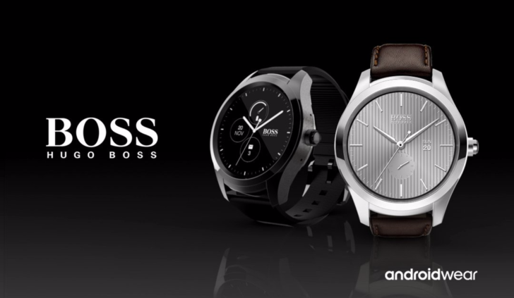 Tommy Hilfiger and Hugo Boss are the most recent design brands to report Android Wear Watches