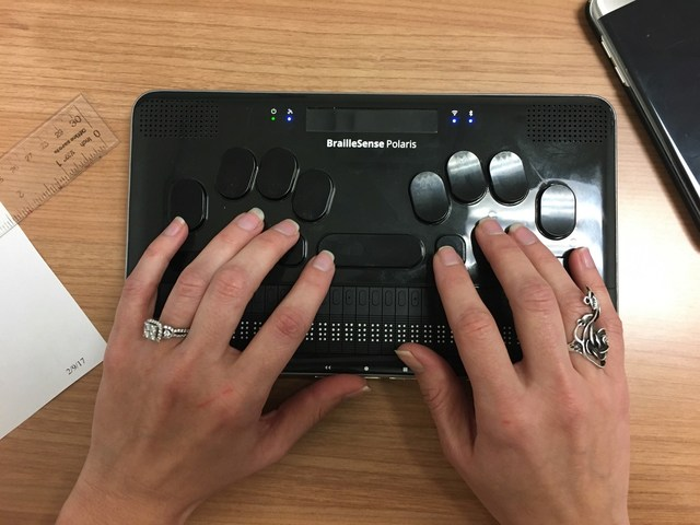 Announcement of BrailleSense Polaris by HIMS, Inc.