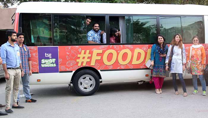 FoodPanda went to a Run for Desi Food in Karachi