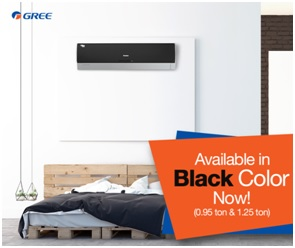 Gree Introduces Glossy Black Color in Econo Inverter Series
