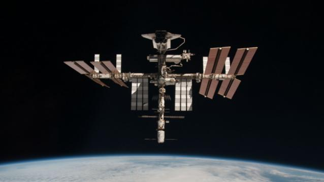 Nasa and Amazon will stream a live discussion in 4K from the ISS on 26 April
