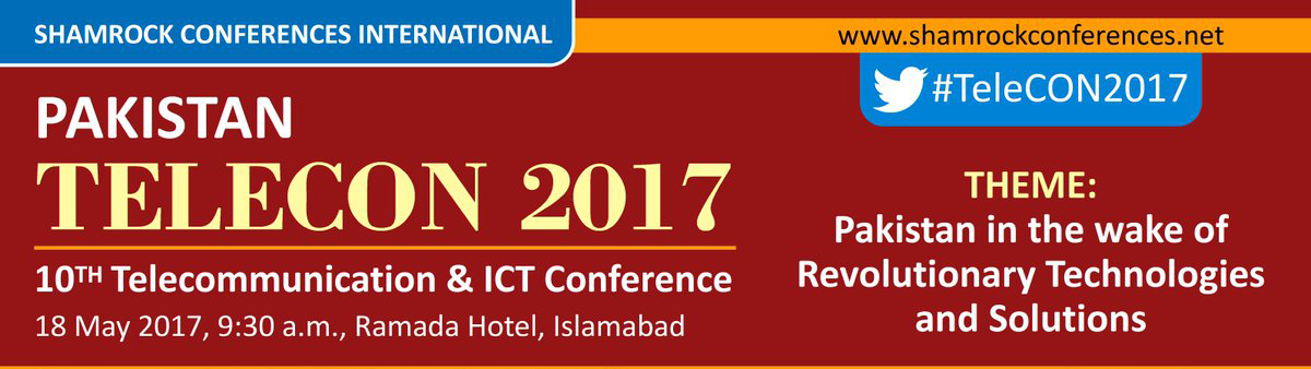 PTCL and Wateen to Sponsor the 10th Annual TeleCON 2017