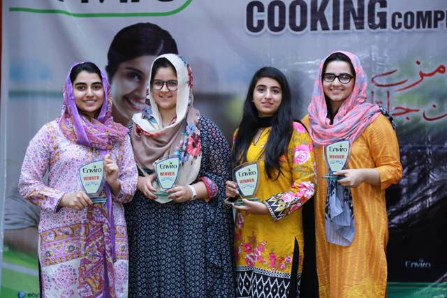 Enviro Appliances Showcases its Products & Sponsors Cooking Competitions at Girls College