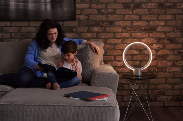 This Alexa-enabled lamp may be too smart because of its own good