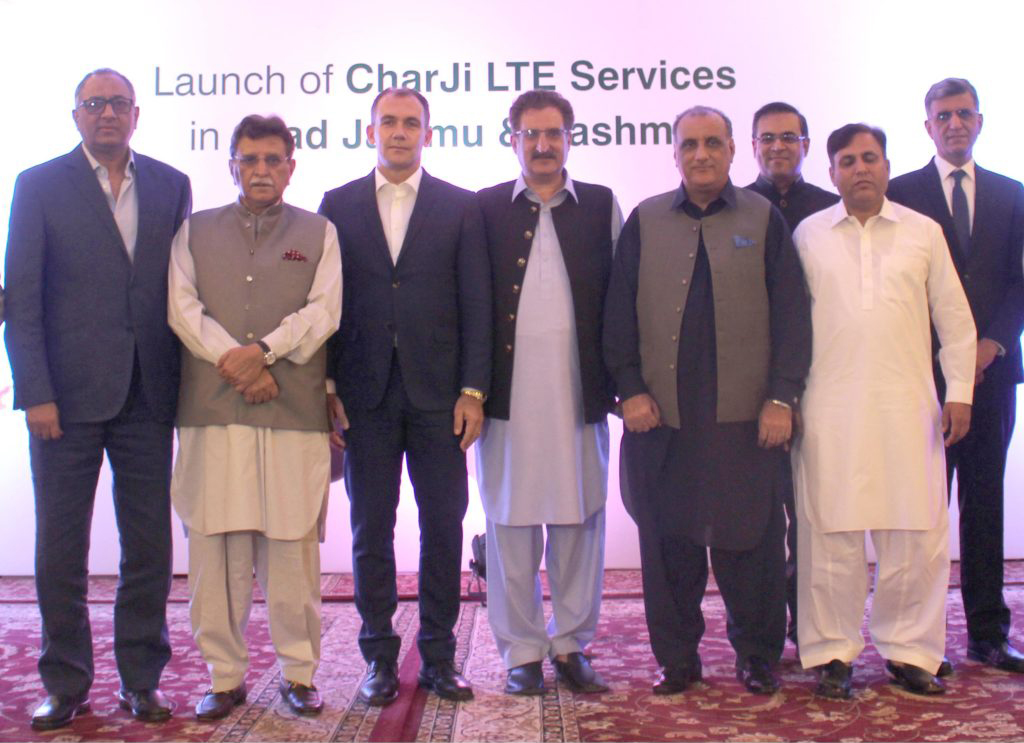 PTCL Launches Charji 4G LTE Services in Azad Jammu & Kashmir