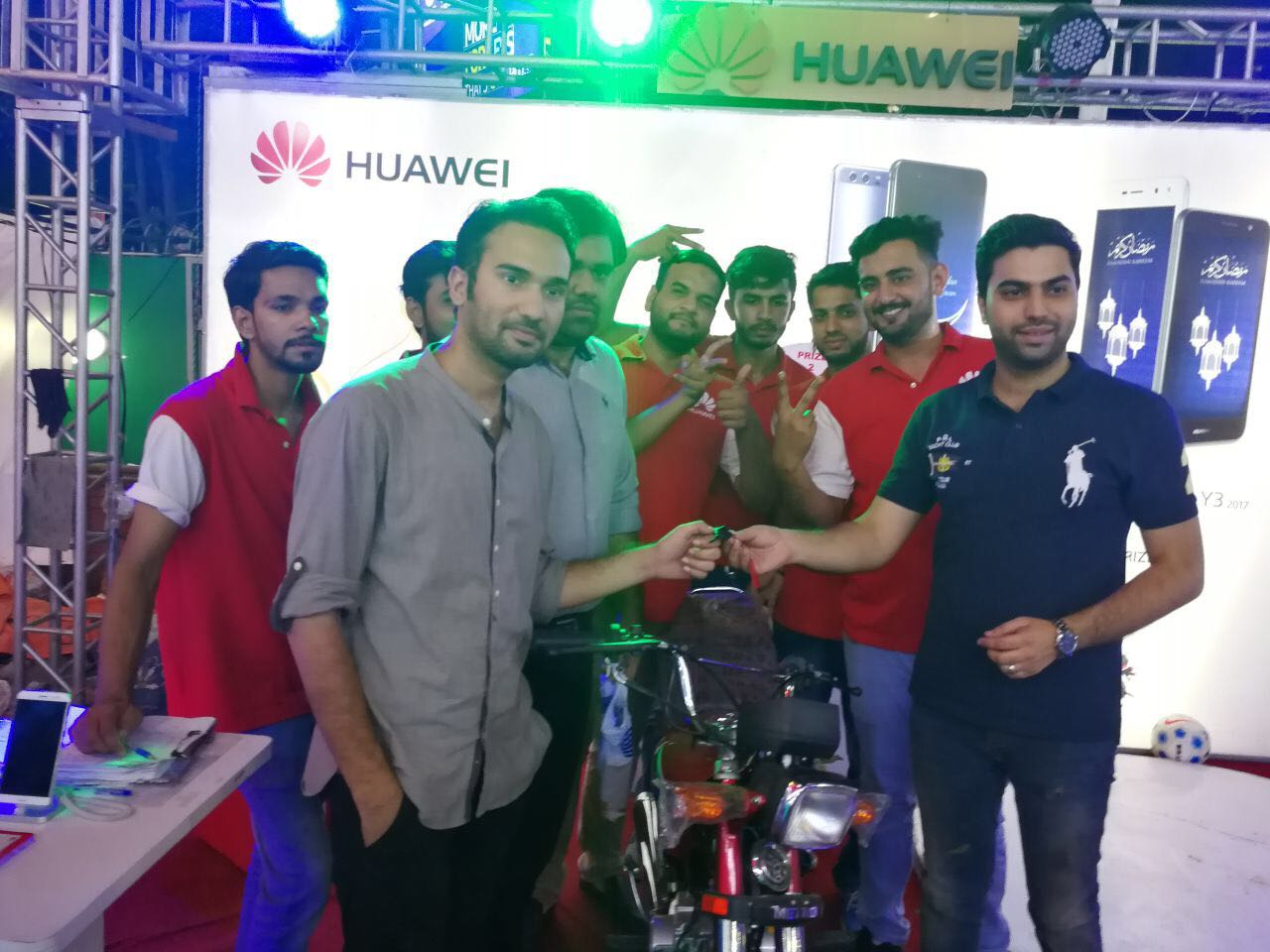 HUAWEI'S Amazing promotional Campaign Closes With A Bang!