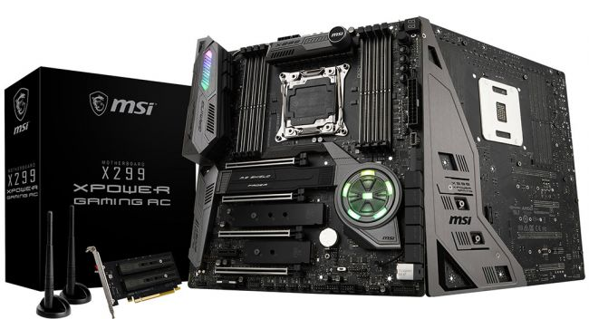 MSI launches a featured-packed X299 motherboard tuned for high overclocks