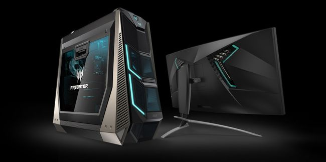Acer's new 18-core Predator desktop and 35-inch Curved screen is beastly