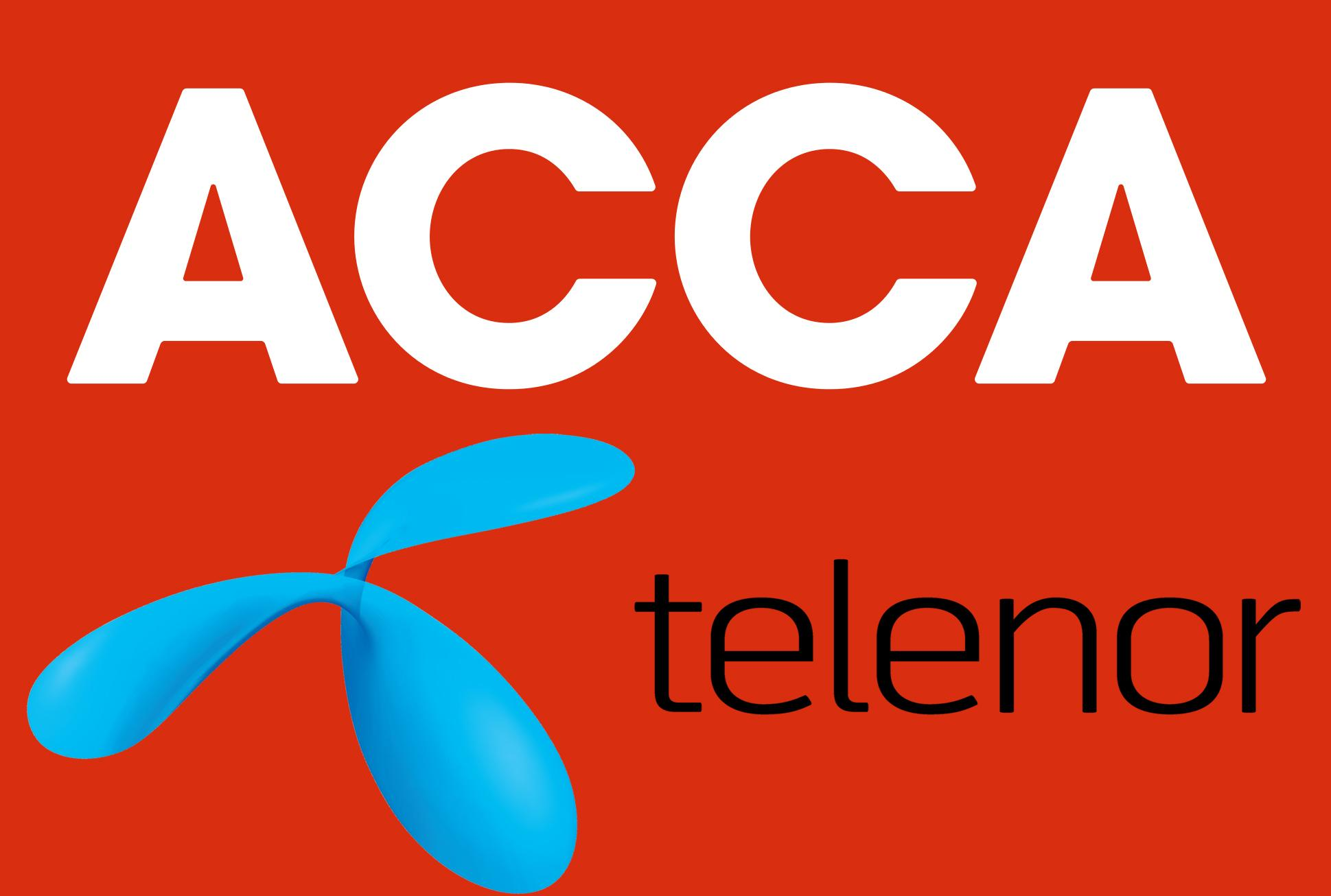 ACCA SIGNS MoU WITH TELENOR TO PROMOTE SHARED SERVICES AMONG FINANCE COMMUNITY