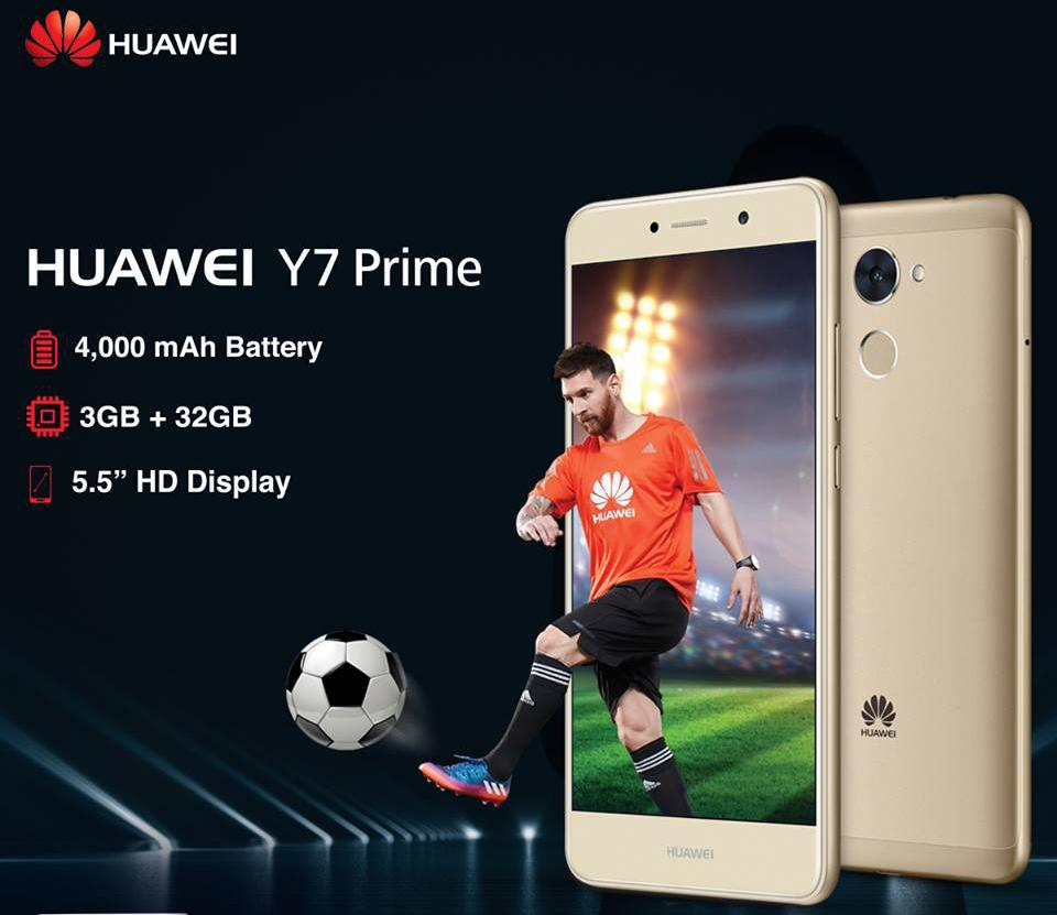 Huawei Y7 Prime – the Hero of Smartphone Gaming