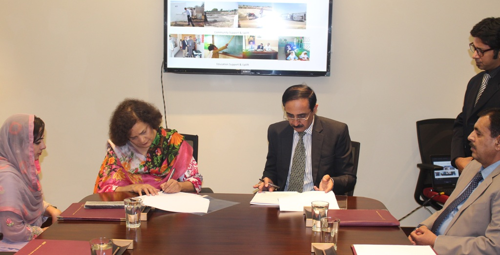 FFC join hands with Kaus-e-Kaza to support the under privileged population