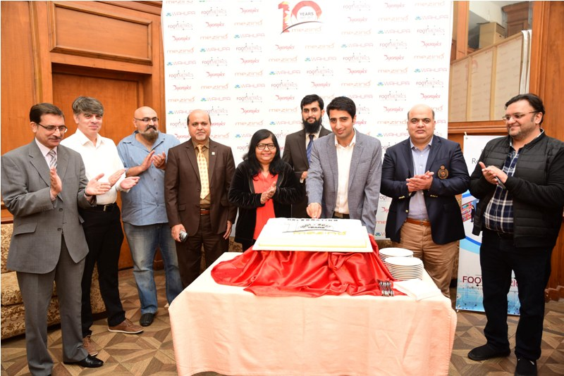 Mezino Technologies Celebrates its 10th Anniversary with IT Industry at Faletti's Hotel Lahore