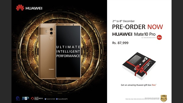 HUAWEI Mate 10 Pro Pre-book the World Most Intelligent Phone