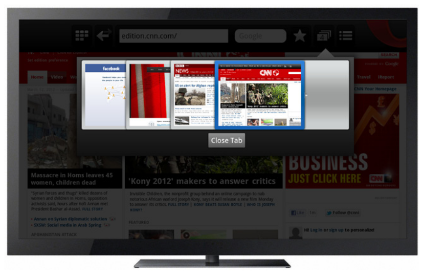 OPERA vs. Android TVs; A Real Picture!