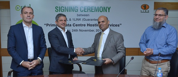 PTCL & 1LINKsign agreement for hosting their Primary Data Center facility