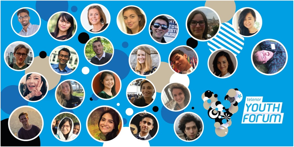 24 young leaders to start change at Telenor Youth Forum in collaboration with Nobel Peace Center