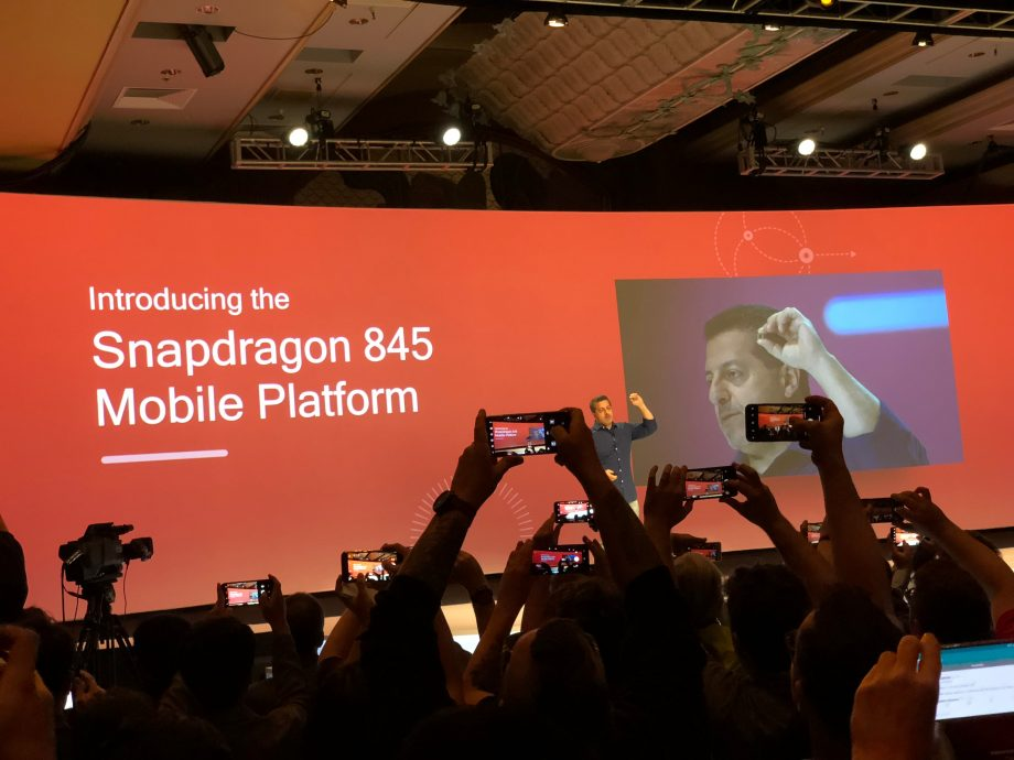 Snapdragon 845 processor revealed by Qualcomm at annual Summit in Hawaii