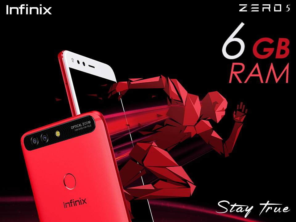 Infinix latest flagship smartphone, Zero 5, exclusively available on Daraz.pk