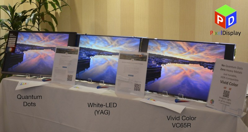 New Vivid Color HDR technology, for thinner, brighter, more colorful experience