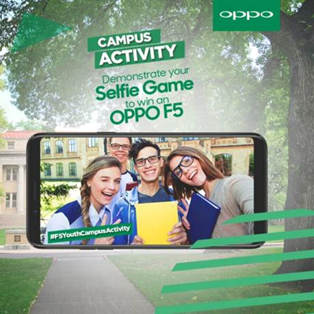 OPPO holds a fun-filled F5 youth activity at the University of Central Punjab