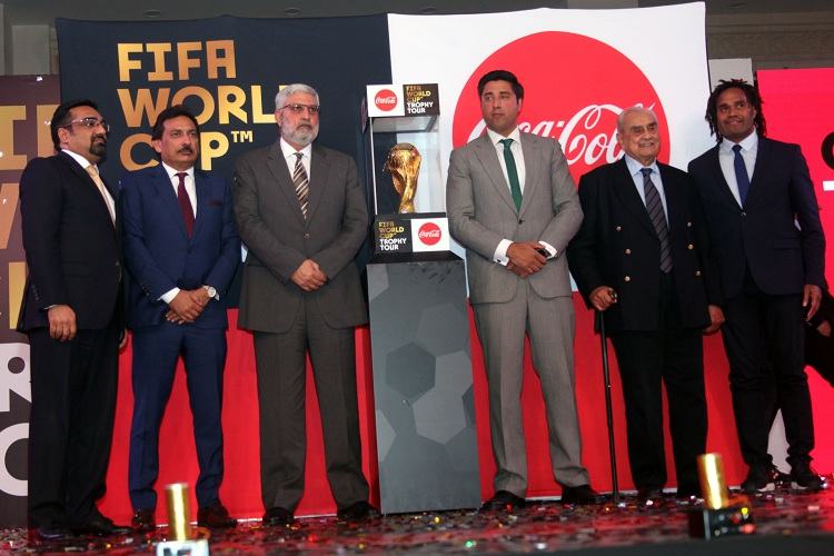 COCA-COLA CREATES HISTORY AS FIFA WORLD CUP™ TROPHY ARRIVES IN PAKISTAN
