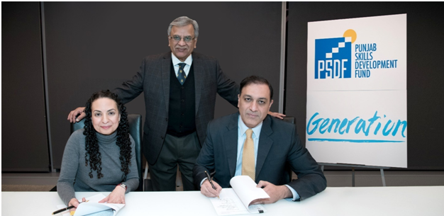 Punjab Skills Development Fund and Generation launch partnership to bring successful global demand-driven employment program to Pakistan