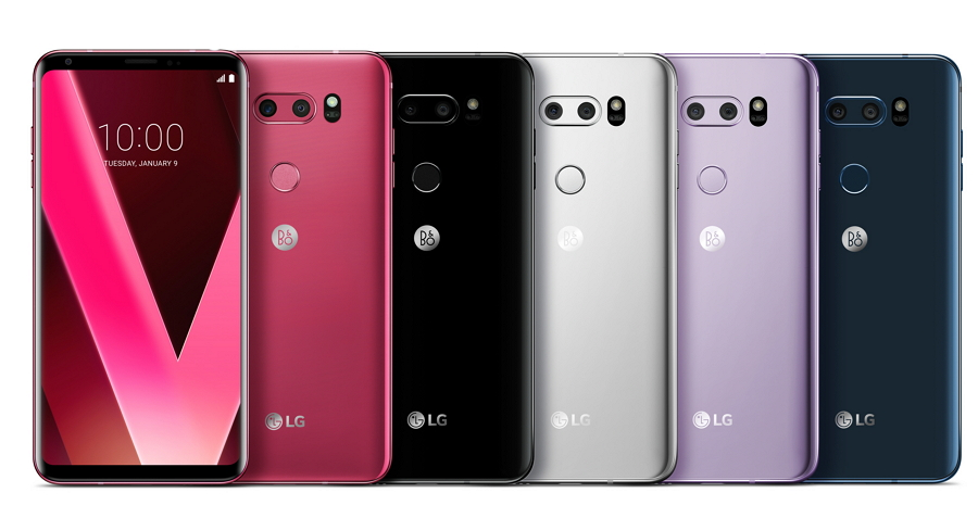 LG V30 Raspberry Rose Is Red Hot