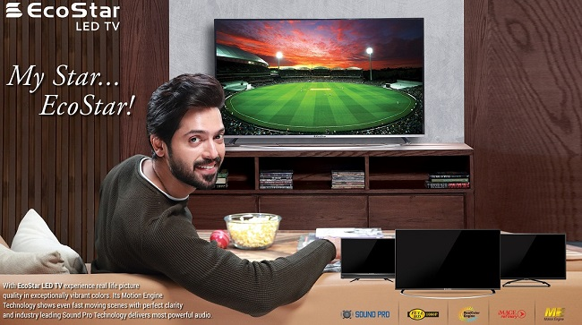 EcoStar appoints Fahad Mustafa as Brand Ambassador 2018 of EcoStar LED TV's