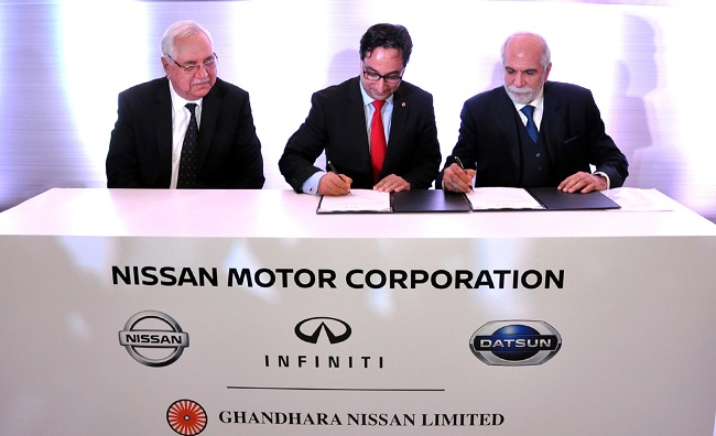 Nissan to begin Datsun production in Pakistan