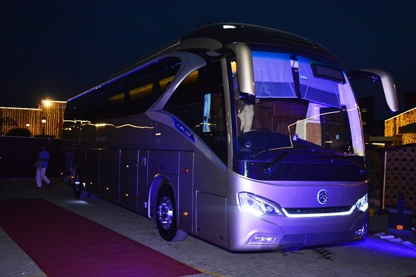 Premval Launches Golden Dragon Navigator for Pakistan's high-end bus market