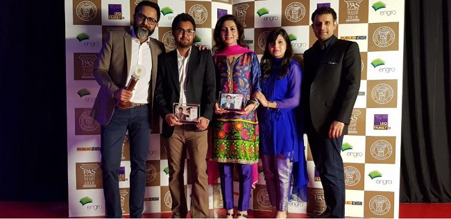 Telenor Pakistan wins 'Best in Telecommunication in Pakistan' and 'Best in PR'awards at 8thPAS Awards