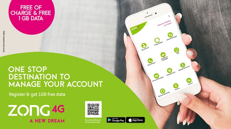 My Zong App serves millions of customers everyday