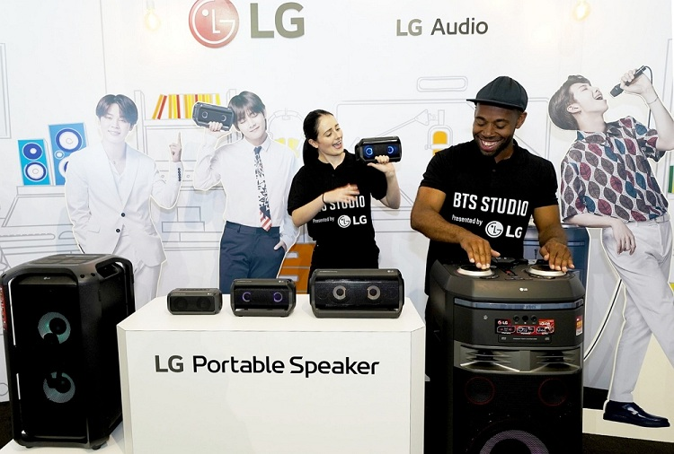 LG Electronics Captures Attention of BTS Fansfrom Coast to Coast During BTS World Tour