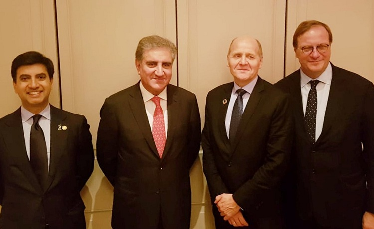 Telenor Group President &CEO Sigve Brekke meets Foreign Minister Shah Mehmood Qureshi in New York