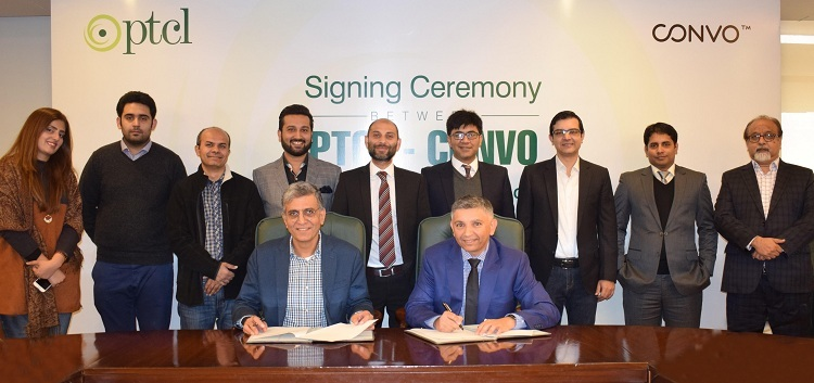PTCL & Convoy Announce First Ever Pakistan-based Cloud Enterprise Social Collaboration Platform