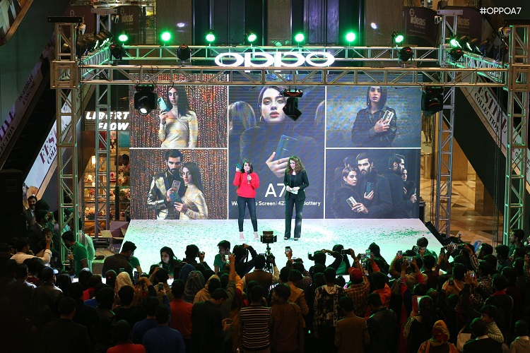 OPPO Launched its Power Packed A7 in Pakistan