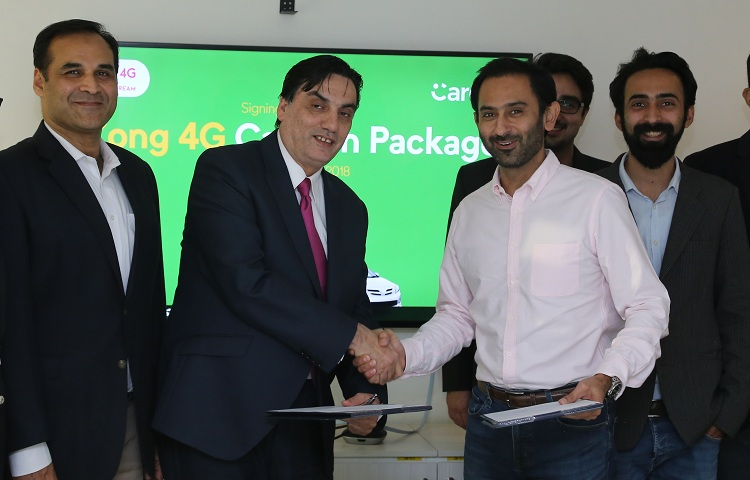 Zong 4G Partners with Careem to provide seamless Connectivity