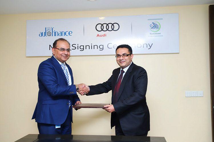 BankIslami extends Strategic Alliance with Premier Systems (Pvt) Ltd. Audi Pakistan
