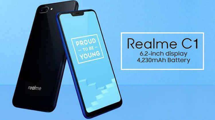 Realme C1 Enter in the Pakistani Market