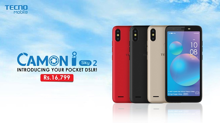 TECNO CAMON iSKY 2: FIRST BUDGET SMARTPHONE WITH 3 AI CAMERASTECNO CAMON iSKY 2: FIRST BUDGET SMARTPHONE WITH 3 AI CAMERAS