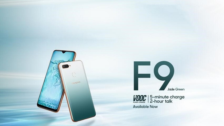 OPPO F9 Jade Green Limited Edition is now available at your nearest retail outlets
