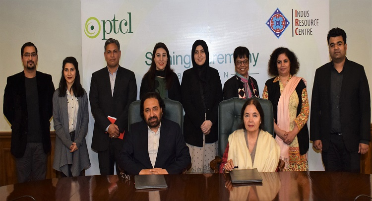 PTCL Collaborates with Indus Resource Center in Sindh