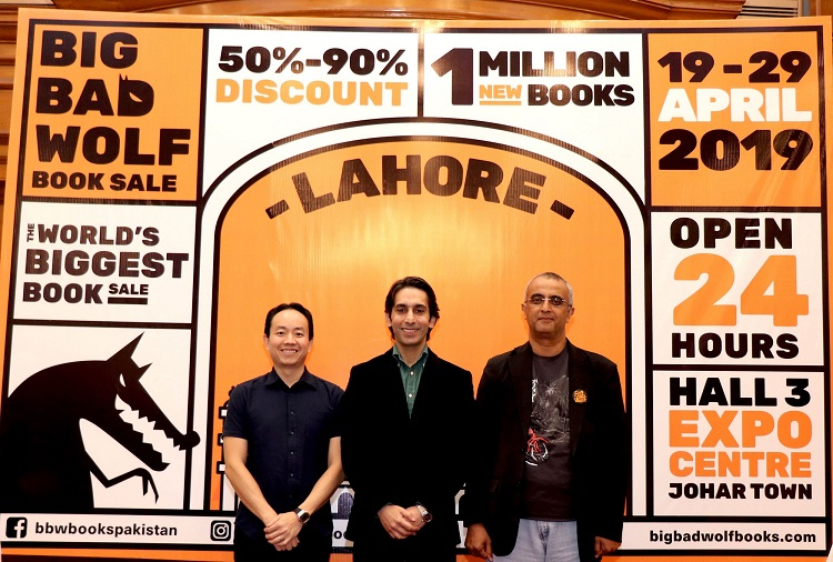 The World's Biggest Book Sale will soon open its doors in Pakistan for the first time ever with books at 50% - 90% discounts!